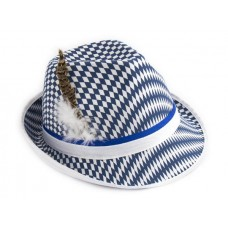 Hat Trilby Tyrolean Bayern Patterned