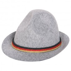 Hat Trilby Beer Fest Grey with Band
