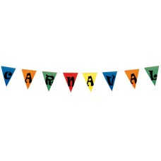 Bunting Assted Colour CARNAVAL 10m