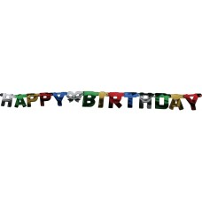 Bunting Happy Birthday Letters Banner