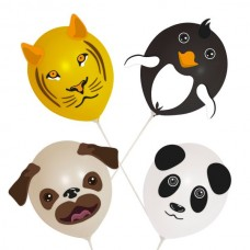 Balloon Heads Animal set of 4