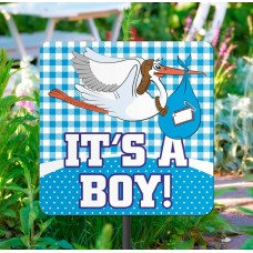 Garden Sign New Arrival It's a Boy