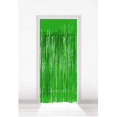 Shimmer Curtain Foil Green 2m x 1m