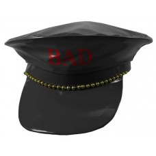 Hat Police Fake Leather