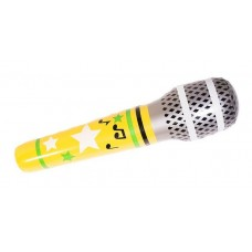 Inflatable Microphone Mega Asstd 86cm