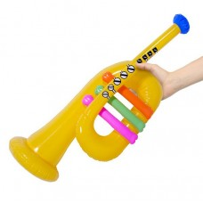 Inflatable Music Trumpet Yellow