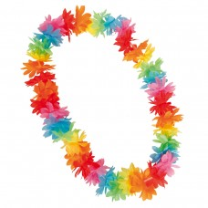 Hawaii Lei Tinsel Mixed Summer