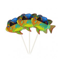 Picks to party Tropical Fish 15cm 8's