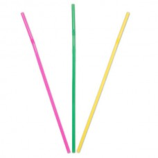 Straws Assorted 24cm 50's