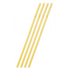 Straws Jumbo Plastic Neon Orange 44cm 25
