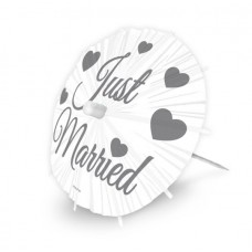 Wedding Picks  Parasol Just Married 8s