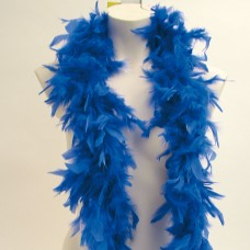 Boas Feather Blue1.8m