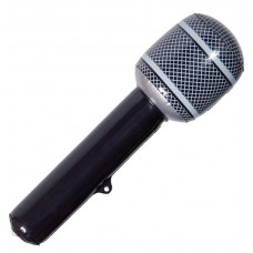 Inflatable Microphone Black