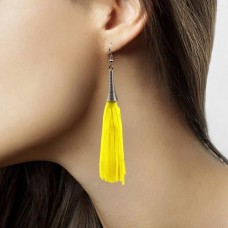 Earrings Neon Yellow