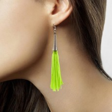 Earrings Neon Green