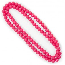 Necklace 100cm Neon Pink