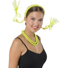 Tiara Hair Braids Neon Yellow