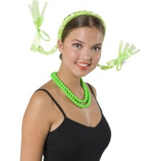 Tiara Hair Braids Neon Green