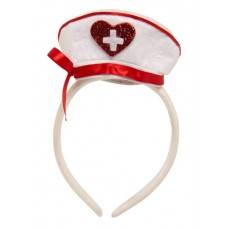 Tiara Nurse Hat with Ribbon