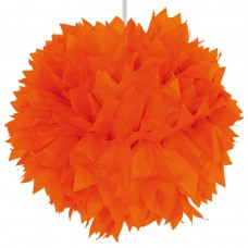Decoration Pompom 30cm Orange Colour