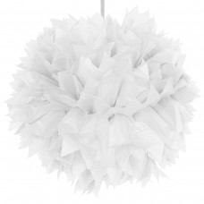 Decoration Pompom 30cm White Colour