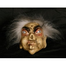 Decorative Troll with White Hair & Hang
