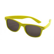 Party Glasses Blues Brothers Neon Yellow