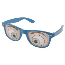 Party Glasses with Blue Eyes