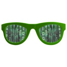 Party Glasses Matrix Lenses XXL