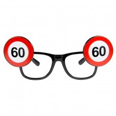 Traffic Sign 60th Glasses