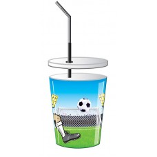 Football Party Cups 4 in Packet