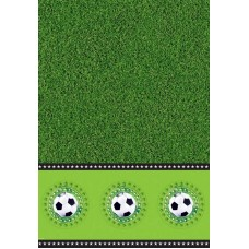 Football Party Table Cover 130 x 180cm