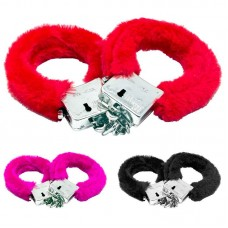 Hen Party Handcuffs Sexy Fur trimmed