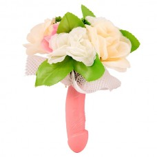 Hen Party Penis Bouquet with Lace
