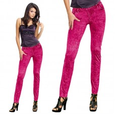 Jean Legging Neon Red