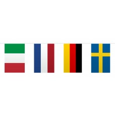 Bunting Europe Flags 10m