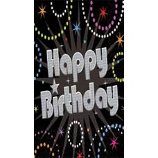 Party Table Cover Happy Birthday