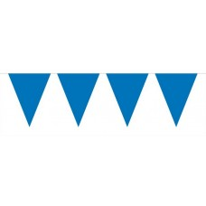 Bunting Plain Blue Mini 3m