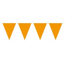Bunting Plain Orange XL 10m