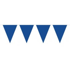 Bunting Plain Blue XL 10m