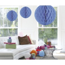 Honeycomb Paper Ball Baby Blue 50cm