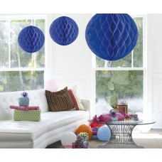 Honeycomb Paper Ball  Blue 50cm