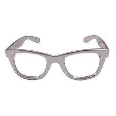 Party Glasses BB Metallic Silver