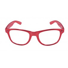 Party Glasses BB Metallic Red