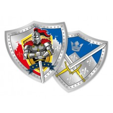 Knights Party Plates 25cm 8's