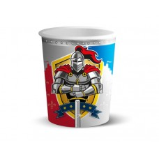 Knights Party Cups 250 ml 8's