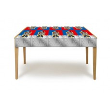 Knights Party Table Cover 130 x 180cm
