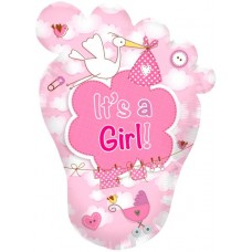 Balloon Foil - Baby Its a Girl