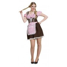 Oktoberfest Brown Dress S/M