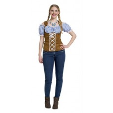 Oktoberfest Blue Top L/XL